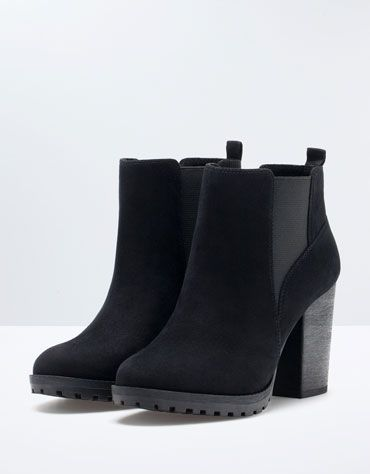 Bershka Belgium - Bershka elastic track ankle boots would love to have these !^^