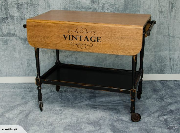 LOVELY OLD TEA TROLLEY - MUST SEE - VINTAGE | Trade Me