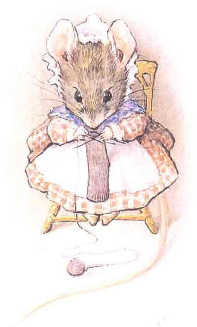Beatrix Potter's mice just really kill me