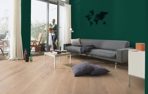 Boen Coral Oak Engineered Flooring, Brushed, White Stained, Oiled, 209x3x14 mm, Boen Flooring - Wood Flooring Centre