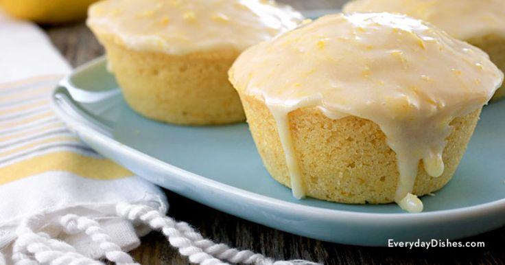 Lemon ginger muffins - Everyday Dishes & DIY