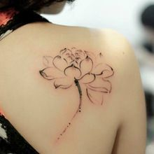 water lily tattoos - Google Search