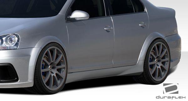 Duraflex 05-10 Volkswagen Jetta R-GT Side Skirts Rocker Panels Kit