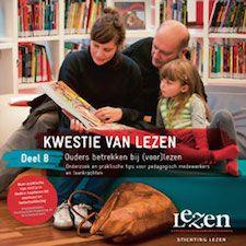 Nieuwe brochure Ouders betrekken bij voorlezen