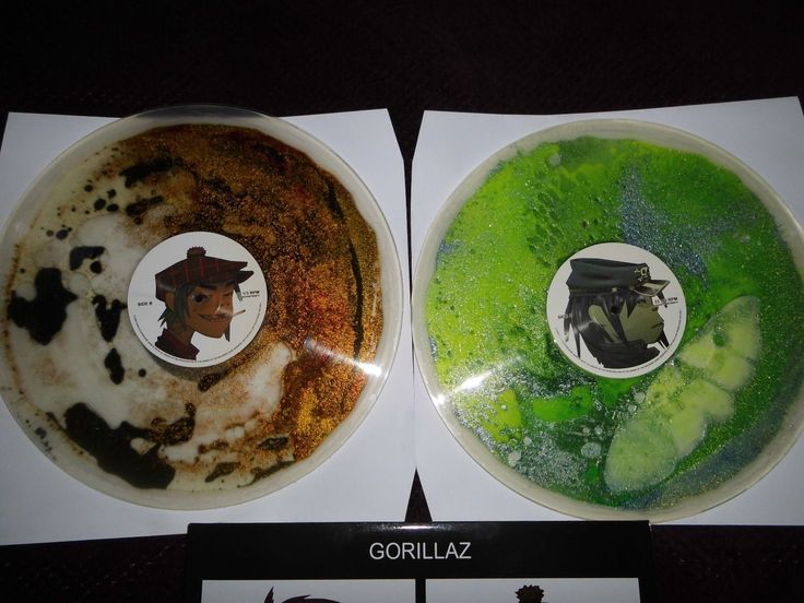 Gorillaz ‎– Demon Days Vinyl Liquid Filled Record 2 LP Rare LTD | eBay