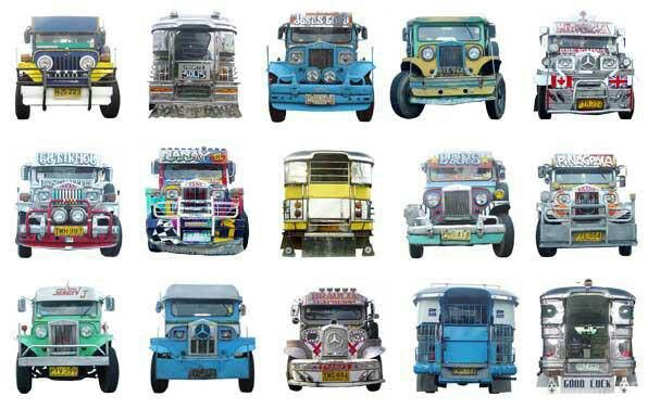 Jeepney, the most popular mode of travel in the Philippines
