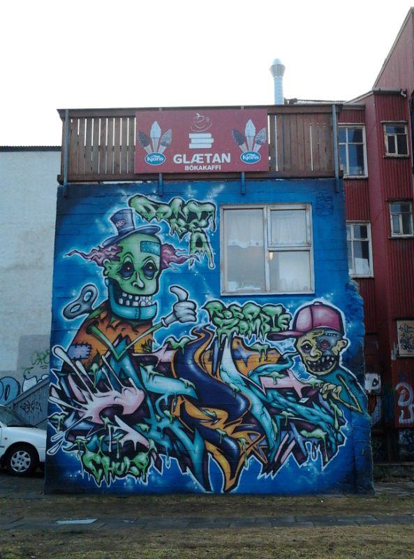 Hjartatorg graffiti