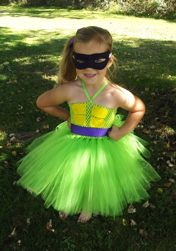 this is adorable!!! Teenage Mutant Ninja Turtle tutu costume  by totallytutubychristy, $40.00