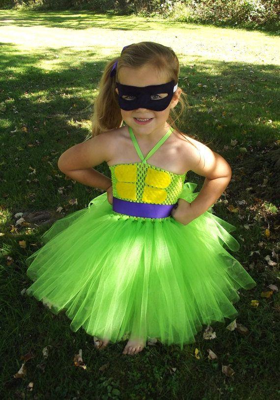 this is adorable!!! Teenage Mutant Ninja Turtle tutu costume  by totallytutubychristy, $40.00
