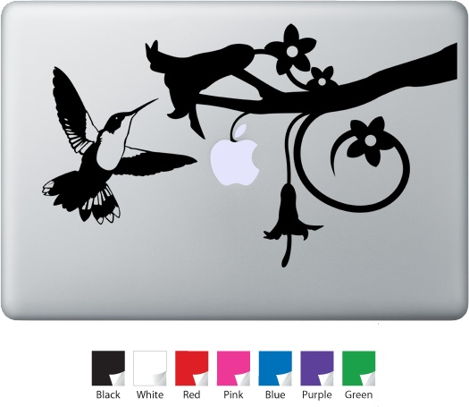 Best Macbook Decals Images On Pinterest Macbook Decal Decals - Window alert hummingbird decals amazon