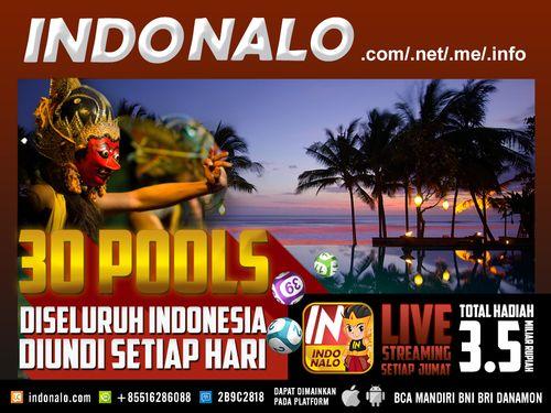 Indo Pools Online Nalo : http://www.indonalo.net Agen Togel Online Indonesia Menghadirkan  Togel atau Pools 30 Kota Di Indonesia Pertama dan Satu-  Satunya di Indonesia DIUNDI SETIAP HARI http://goo.gl/qLSlS0  Main Live Streaming Setiap Hari Jumat,  Total Hadiah 3.5 Miliar Rupiah ( 1st @ Rp.1M , 2nd @  Rp.500Jt , 3rd @ Rp.250Jt ) http://goo.gl/qLSlS0  Semua Jadwal dan Hasil keluaran akan mengikuti Waktu  Indonesia Barat (WIB)  Diskon yang diberikan http://www.indonalo.net sangat berbeda…