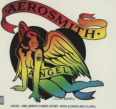 "Starting the day with something from 1988... ""Angel"" by Aerosmith...."