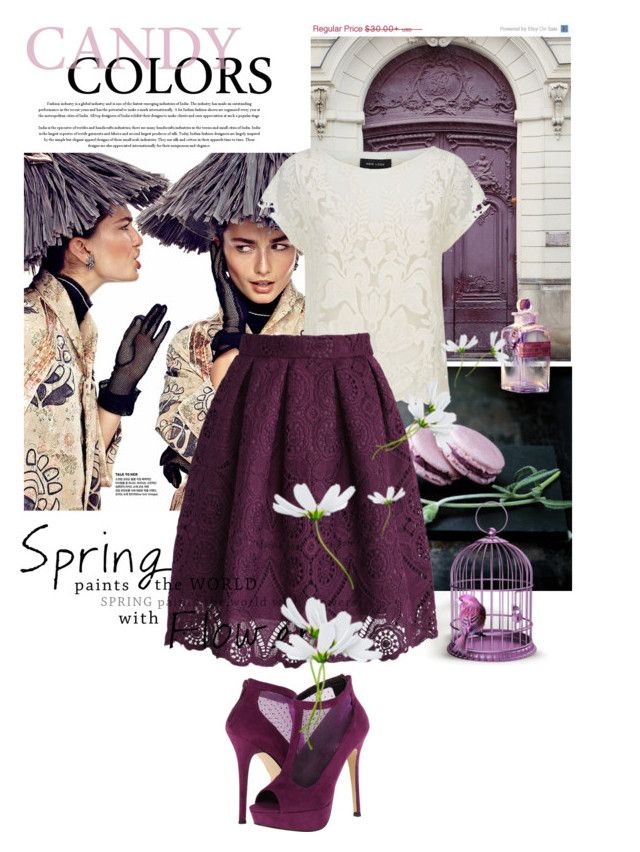 #Lace by lailah37 on Polyvore featuring moda, Chicwish and Call it SPRING