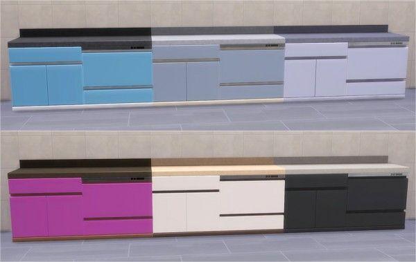 Veranka: BlandCo Contemporary Dishwasher • Sims 4 Downloads