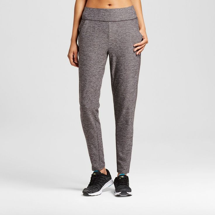 Women's Cover Up Pant - Black Heather Xxl - C9 Champion, Charcoal Heather