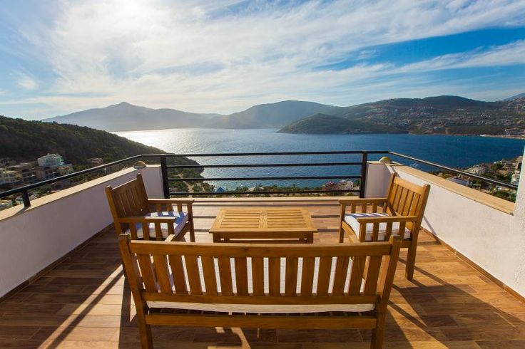 VİLLA KORAL, Luxury vacation rental villa with infinity pool,kiddie pool and spectacular views.Sleeps 12.Close to the beach and beach clubs.From homeownerskalkan.com #kalkan #antalya