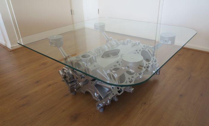 Table De Salon Jaguar V8 Bloc De Moteur 80 X 80 X 35 Cm Catawiki En 2020 Table De Salon Table Jaguar