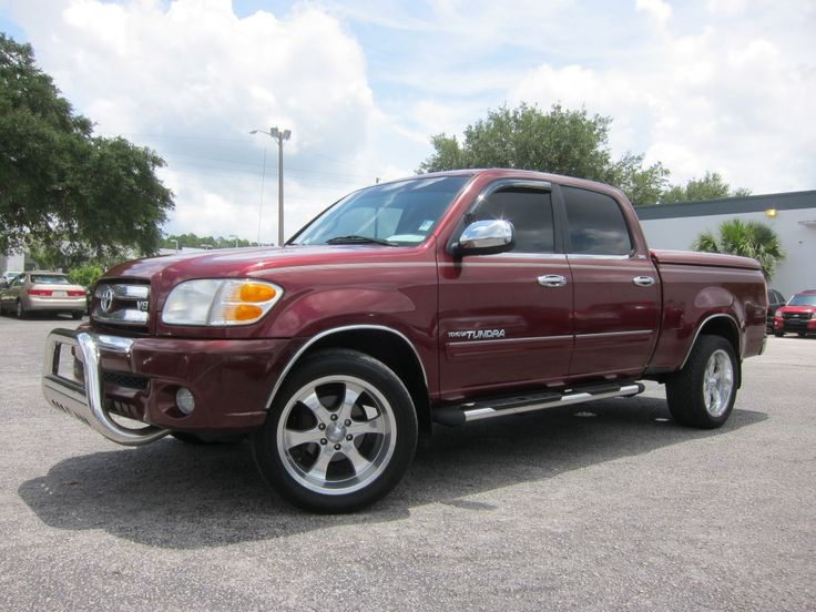 2004 TOYOTA TUNDRA SR5 DOUBLE CAB Miles: 108,427 http://www.pwuc.com/inventory/toyota-tundra-gainesville-fl/