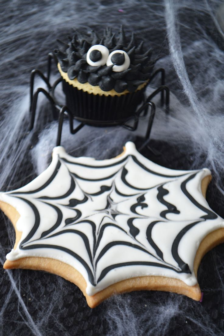 Spider Web Sugar Cookie by Bake Sale