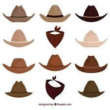 Image result for dibujos de sombreros vaqueros
