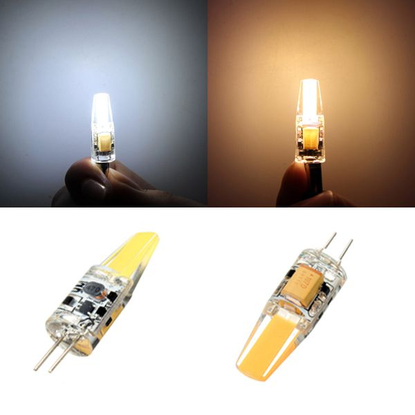G4 LED Bulbs 1.5W Transparent White/Warm White light Lamp AC/DC 12V