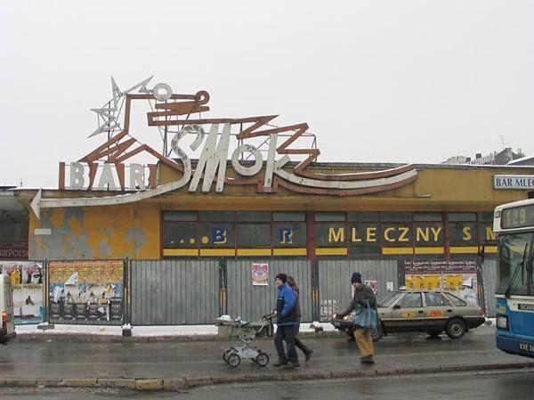 Kraków - nieistniejący BAR SMOK
