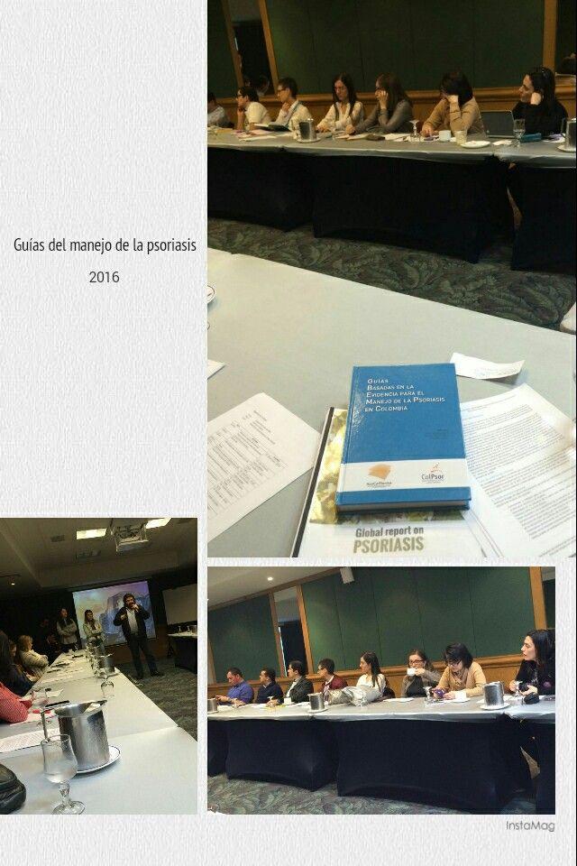 Actualizaciónde guías del manejo de la psoriasis en Colombia, organizado por #Asocolderma #ColPsor