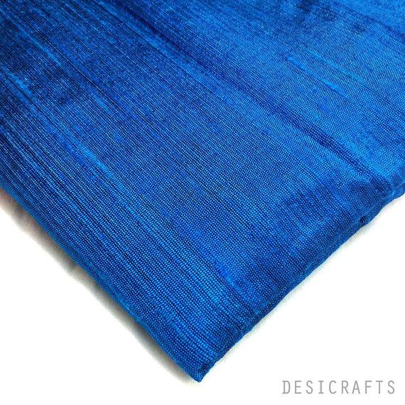 Hey, I found this really awesome Etsy listing at https://www.etsy.com/listing/124160961/royal-blue-raw-silk-indian-silk-fabric