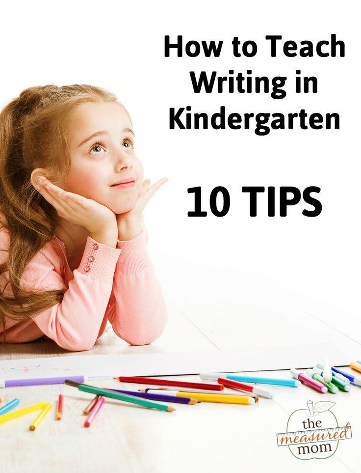 How to teach writing in kindergarten (10 tips!)