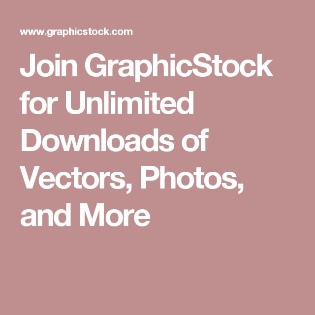 Join GraphicStock for Unlimited Downloads of Vectors, Photos, and More