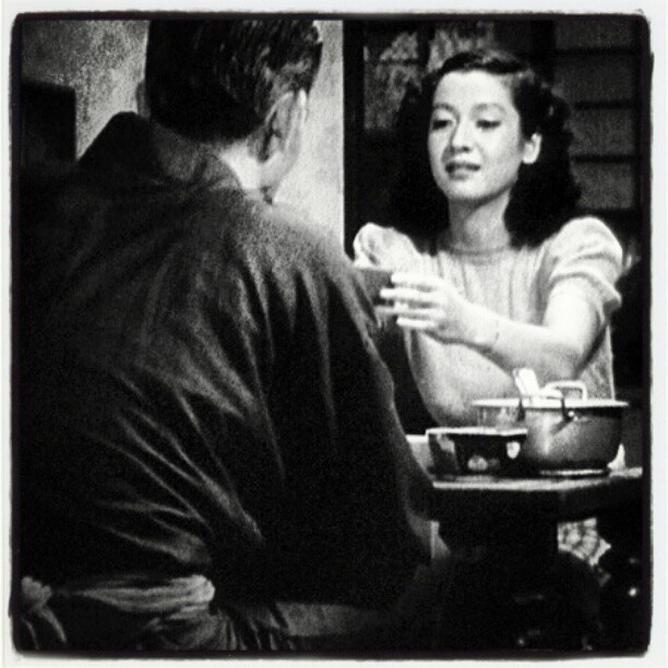Chishu Ryu & Setsuko Hara, in Late Spring by Ozu. - @yotsuya21- #webstagram