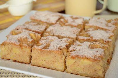 Citromhab: Bögrés almás sütemény