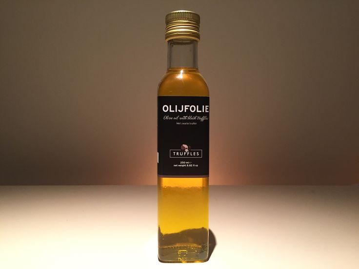 truffel olie met zwarte truffel
