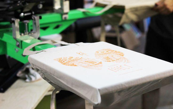 screen printing #bag #print