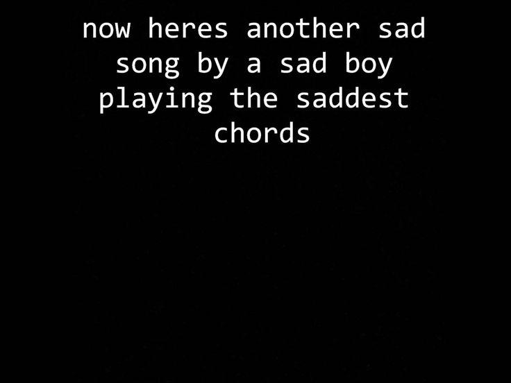 Lower Than Atlantis - Another Sad Song Lyrics