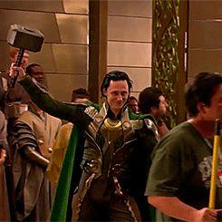 Loki returns for Thor: Ragnarok. I can't wait!!