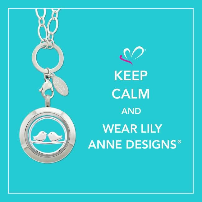 Keep calm and wear Lily Anne Designs #LilyAnneDesigns #PersonalisedLockets #CapturingMoments #FreeToBeMe
