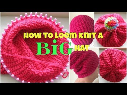 148 Best Loom Knit Hats Images On Pinterest Knit Hats Crocheted