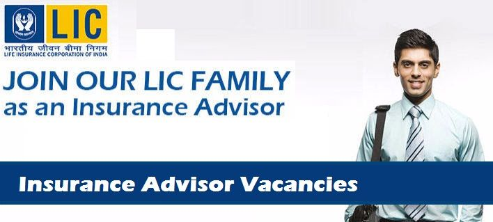 Recruitment-Insurance Advisor-100 vacancies-Hsc job-Last date 31 December 2016  Life Insurance Corporation of India (LIC) Maharashtra Region invites online application for the recruitment of 100 Insurance Advisor Vacancies . The  employment details about the posts, age limit, educational  qualification,  experience and other  conditions are given below as link.