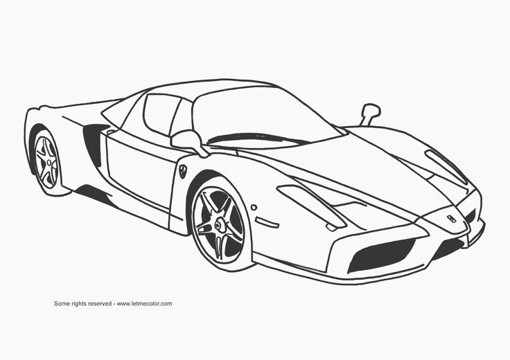sports cars coloring pages Cars coloring pages Race car
