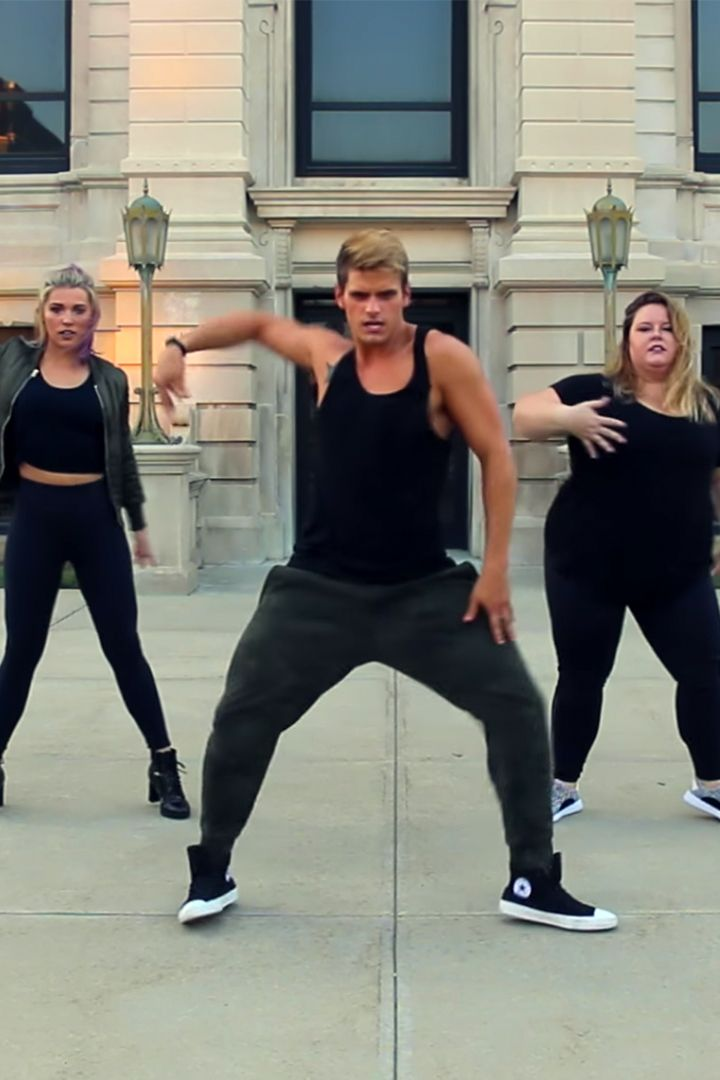 """Dance lovers, this cardio hip-hop routine is for you. Featuring the new Justin Bieber and Major Lazer song, """"Cold Water,"""" the Fitness Marshall choreographed a fun, simple, easy-to-follow exercise that'll give you a sweaty workout AND a mood booster."""