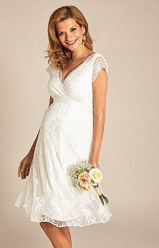d57a2738762ff Eden Gown Short in 2019   Be my Dress   Pregnant wedding dress ...