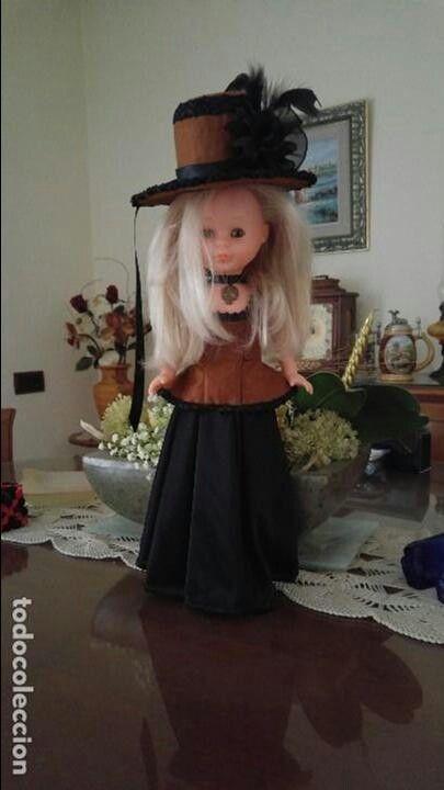 Diseño moderno para una muñeca clásica