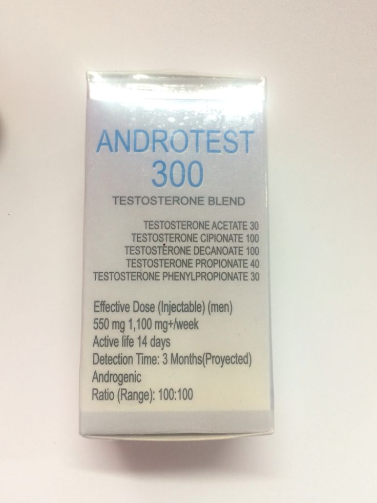 Androtest 350 testosterone mix European genetic labs