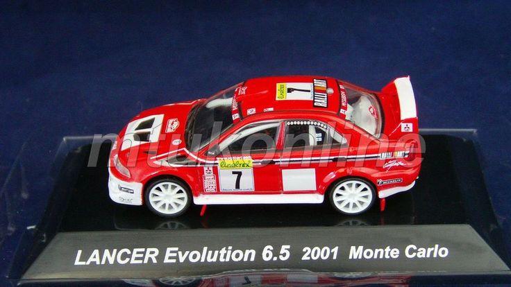 CM S RALLY CAR COLLECTION | SS7 | MITSUBISHI LANCER EVO 6.5 | 2001 MONTE CARLO