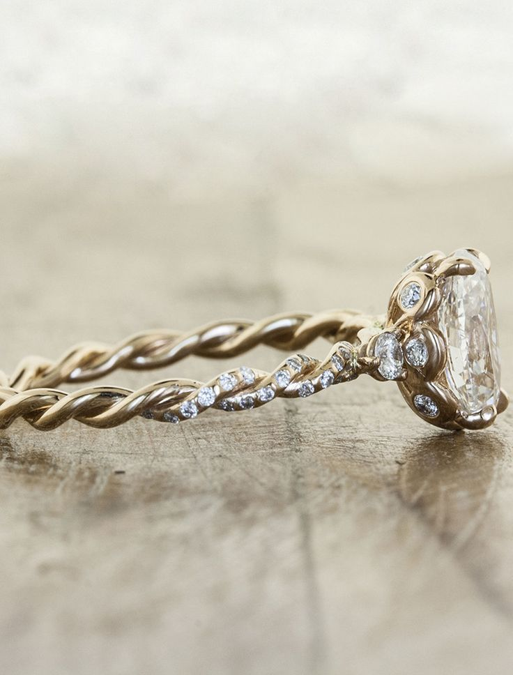 This has to be one of the most beautiful rings I've ever seen.