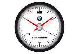 Zegar ścienny BMW LOGO - cena i opinie na www.Motocyklowy.pl #gadgety #gadzety_motocyklowe