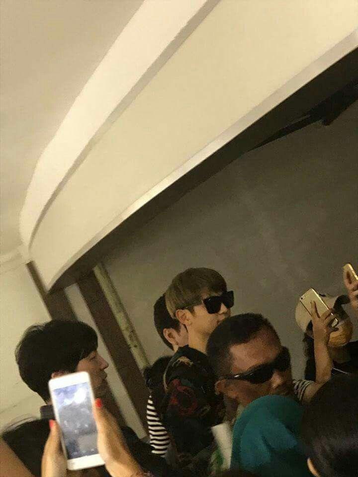 #Minho a su llegada a Ngurah Rai International Airport, Bali.- Indonesia