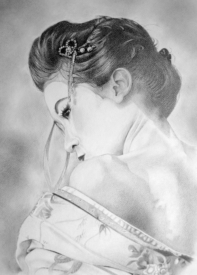 25 best ideas about geisha drawing on pinterest geisha