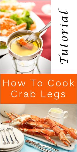 How To Prep, Cook & Eat Crab Legs-I can't wait to try crab legs at home!